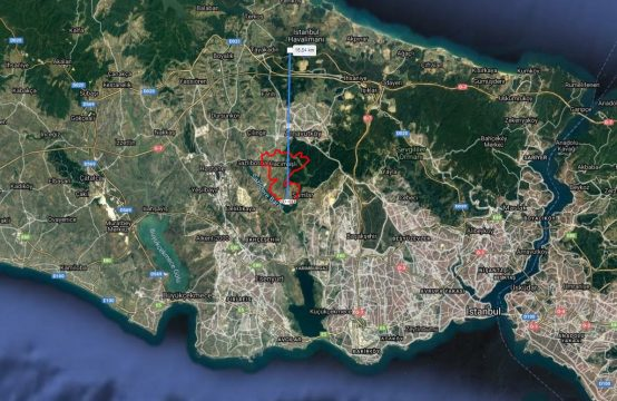 Land For Sale in Istanbul Next to Canal Istanbul
